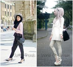Hijab Fashion Models