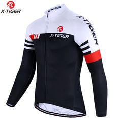 X-Tiger Winter Cycling Jersey Thermal Fleece Cycling Clothing Long Sleeve Bicycle Wear Bike Clothing Invierno Maillot Ciclismo Cycling Jerseys, Cycling Bikes, Road Cycling, Winter Cycling, Karate, Bike Wear, Mtb Bicycle, Road Bike Women, Cool Bike Accessories