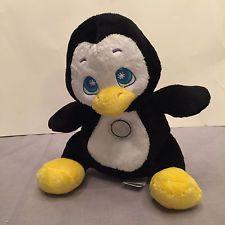 Flashlight Friends Penguin Stuffed Animal Kid's Huggable Loveable Night Light