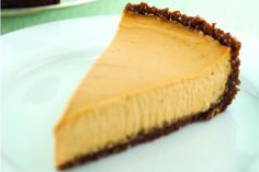 Vegan Pumpkin Cheesecake With a Gingersnap Crust- Replace flour with rice flour and use gluten free ginger snaps