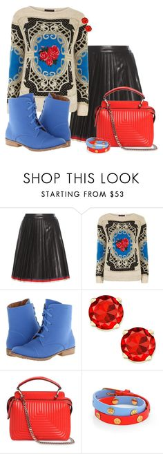 """""""Untitled #602"""" by kaishabackwards ❤ liked on Polyvore featuring Gucci, Dorothy Perkins, Michael Antonio, Fendi and Tory Burch"""