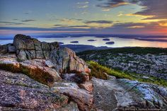 """This is Maine? Sweet! I haven't been yet """"but there's no place like home - Bar Harbor, Maine!"""""""
