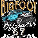 teebazaar is an independent artist creating amazing designs for great products such as t-shirts, stickers, posters, and phone cases. Bigfoot, Big Trucks, Cool T Shirts, Diesel, Birthday Gifts, Monster Trucks, Hoodies, Diesel Fuel, Birthday Presents