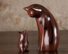 Утонченные деревянные скульптуры перри ланкастера | Colors.life