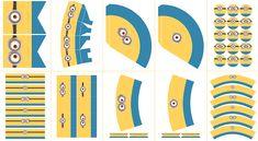 Diseño: Postreadicción.  Impresión y Recorte aquí: http://articulo.mercadolibre.com.ar/MLA-586093143-cumpleanos-minions-kit-decoracion-listo-para-disfrutar-_JM