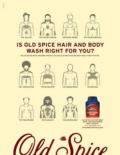 HAIR AND BODY METRICS, Old Spice Hair And Body Wash, Wieden+kennedy, Old Spice, Print, Outdoor, Ads