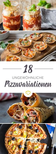 Pizza with a difference: 22 unusual pizza variations - Pizza - Homemade Burgers Burger Recipes, Pizza Recipes, Appetizer Recipes, Snack Recipes, Yummy Recipes, Appetizers, Fancy Pizza, Quiche, Pizza Snacks