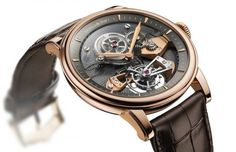 Il Tourbillon in oro by Arnold and Son