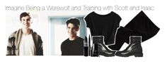 """""""Imagine Being a Werewolf and Training with Scott and Isaac"""" by fandomimagineshere ❤ liked on Polyvore featuring Old Navy, Yves Saint Laurent, Elizabeth Arden and le top"""