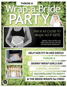 Party like an It Works! rockstar!  Book your party http:// wrapmybodybackintime.com.