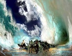 To save the Israelites, Jehovah put a cloud between his people and the Egyptians. Through the red sea he guarded them. There's a storm brewing . . .  Just as Jehovah saved his people of old . . . he provide a protective wall for his people today! Have faith, brothers and sisters!