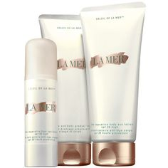 La Mer 'Soleil de La Mer - The Face & Body Gradual Tan' Lotion (605 VEF) ❤ liked on Polyvore featuring beauty products, bath & body products, sun care, fillers and no color