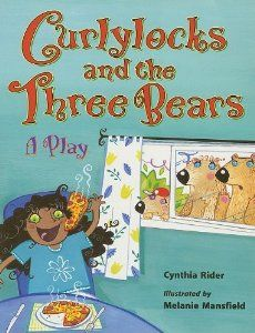 A retelling of the fairy tale, Goldilocks and the Three Bears, featuring a Goldilocks that is a person of color. Within this version of the story, we also get a little background information about why the three bears left their home in the first place, and the repercussions of Curlylocks's actions.