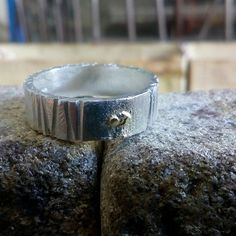 Rustic earth wedding ring just working on it. Rustic Wedding Bands, Rustic Wedding Groomsmen, Rustic Wedding Colors, Rustic Wedding Cake Toppers, Summer Wedding Colors, Silver Wedding Rings, Groom Ring, Bride Groom, Wedding Reception Entrance