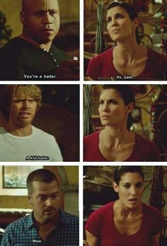 Kensi, Deeks, Sam and Callen