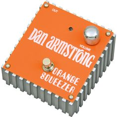Dan Armstrong Orange Squeezer compressor