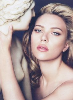 Scarlett Johansson for Dolce and Gabbana - beauty and fashion game at an all time high!