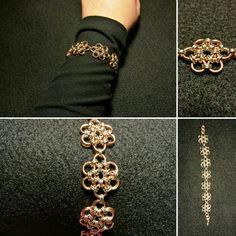 Manufaktura Leo hand made wire wrapping bracelet Leather Working, Wire Wrapping, Leo, Wraps, Jewelry Making, Bracelets, Handmade, Fashion, Moda