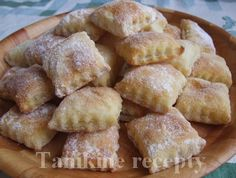 Tvarohové cesto Eastern European Recipes, Czech Recipes, Apple Pie, Christmas Cookies, Sweet Recipes, Nom Nom, French Toast, Sweet Tooth, Baking