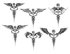 Nurse Caduceus Tattoo More