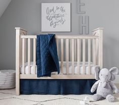 Kendall Toddler Bed & Conversion Kit - Guardrail   Pottery Barn Kids