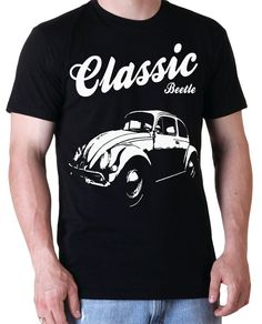Classic Beetle TShirt Men Size Small  XXL by CandyClubClothing, £9.99
