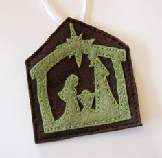 """C"" is for Crafty: Felt Jesse Tree Ornaments Continued--part 2"