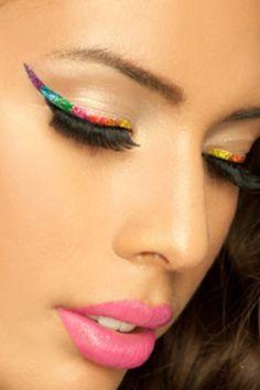 Temporary eye tattoos on pinterest eye tattoos star for Eye temporary tattoo makeup