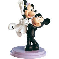 Tortenfigur Brautpaar Mickey und Minnie