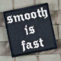 "Violent Little Morale Patch ""Smooth is Fast"" by US Patriot Tactical"