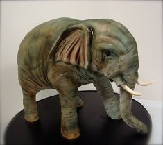 "Elephant cake by ""Debbie does cakes"""