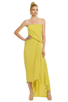 Rent Nigerian Sand Dress by Halston Heritage for $90 only at Rent the Runway.