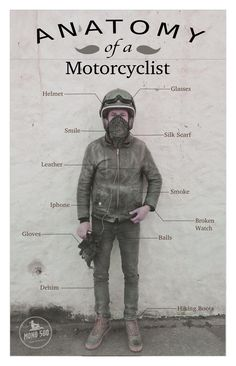 Anatomy of a Motorcyclist in Argentina.  Alban by mono500.com