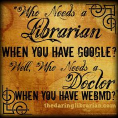 This is why we love the Daring Librarian - words from her mouth to infographic in 24 hours Library Memes, Library Posters, Library Quotes, Librarian Humor, Teacher Librarian, Librarian Chic, Reading Library, Library Books, Library Signs