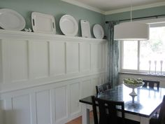 Idea for Dining Room paneling