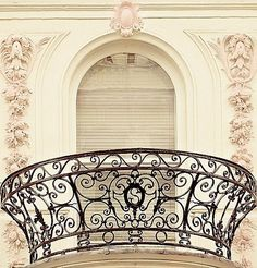 A truly beautiful balcony ~ Paris ~ France