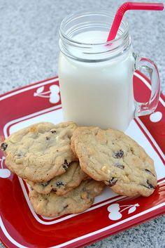Cherry White Chocolate Chip Cookies