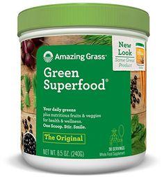 Super green smoothie| Amazing Grass Green Superfood| Super green drink mix| organic super food| Spirulina| Maca powder| Maca root| Super Green Travel Smoothie| Natural greens| Green Superfood powder