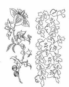 日本花の着色ページ: 日本花の着色ページ 5655