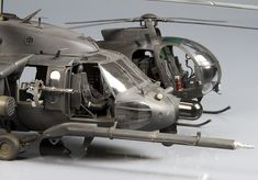 Page 1 of 4 - 1/35 MH-60L and AH6J nightstalkers machines - posted in Ready for Inspection - Aircraft: hi there, i know Chopper are not so popular as airplanes, but this two flying blenders are for me the meanest machines ever