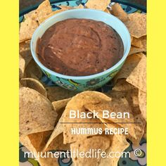 I just love a good hummus! This Black Bean Hummus is a delicious variation that's really quick & easy to make. Perfect for any entertaining occasion.