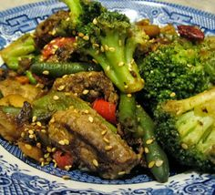 Beef and Broccoli Stir Fry ~ S {Trim Healthy Mama, GAPS, Paleo, Grain Free, Sugar Free}