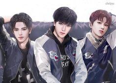 NCT fanart @/Chelpyu (Twitter)