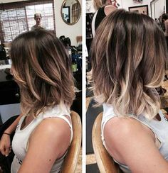 Love this cut and love the colors in her hair. 15 Highlighted Bob Hairstyles | http://www.short-haircut.com/15-highlighted-bob-hairstyles.html