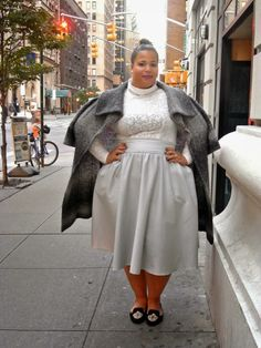 Looks we love, Garnerstyle at the Lucky Fab Conference, see the others on The Curvy Fashionista