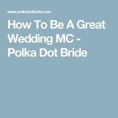 1000 Ideas About Wedding Mc On Pinterest