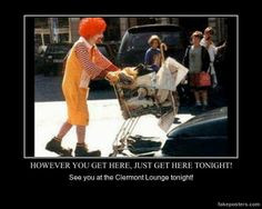 The 20 Most Terrifying Pictures of Ronald McDonald Ever Dankest Memes, Funny Memes, Hilarious, Jokes, Very Demotivational, American Poetry, Weird Pictures, Twisted Humor, Sarcastic Quotes