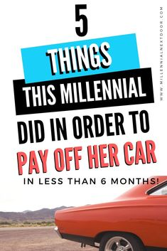 Try these 5 things to pay off your auto loan early! This millennial did it. Check it out, free. Buying Your First Car, Car Buying Tips, Money Saving Tips, Money Tips, Federal Student Loans, Student Loan Debt, Paying Off Car Loan, Refinance Car, Ways To Be Happier