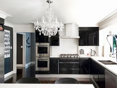 La Dolce Vita: Going to the Dark Side: Kitchens