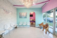 Toothbeary Pediatric Dentistry architecture, design, and construction in Glen Allen, Virginia | waiting area